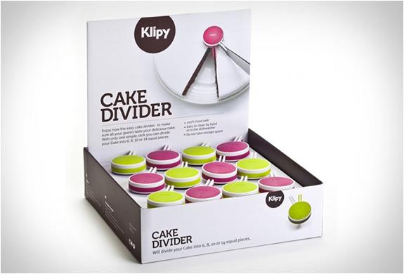 klipy cake divider 5 CAKE DIVIDER By KLIPY แบ่งเค้กไม่ใช่เรื่ิองยาก