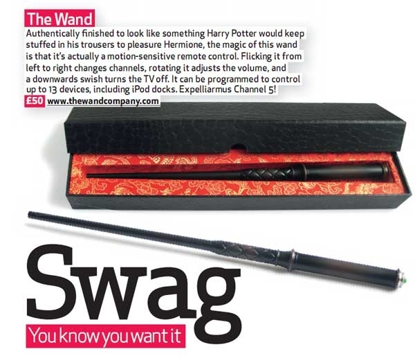 magic wand remote in swag mag 13498 1259145095 14  IT'S NOT A REMOTE, IT'S A MAGIC เปลี่ยนช่องโทรทัศน์ ด้วยไม้กายสิทธิ์