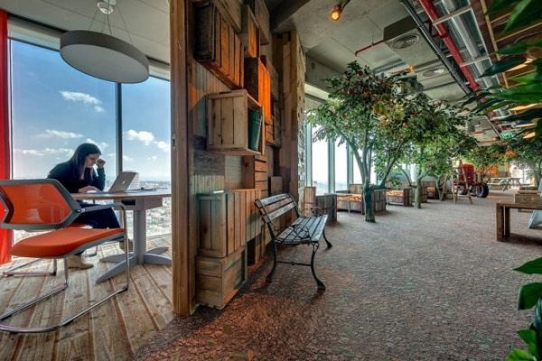 25560207 224913 สำนักงานใหม่ของ Google ในเมืองเทลอาวีฟ อิสราเอล... มันยอดเยี่ยมเกินบรรยาย