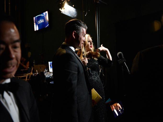 25560225 212204 ชมภาพ Backstage งานประกาศรางวัล ออสการ์
