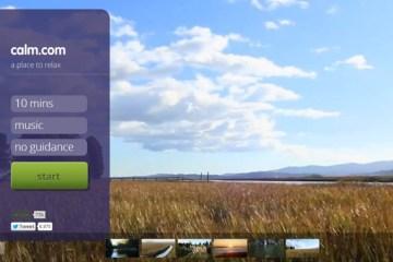 ผ่อนคลายหน้าคอมด้วยเสียงธรรมชาติกับเว็บ Calm.com 12 - Green
