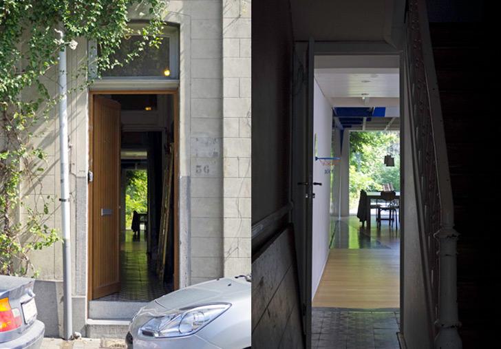 Transforming a laundry by Alain Hinant 2 เปลี่ยนอาคารซักรีด..ให้กลายเป็นบ้านน่าอยู่ของศิลปิน