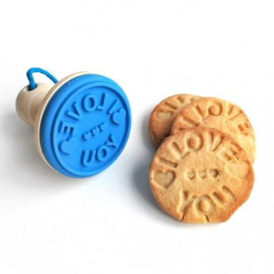 """I Love You"" Cookie Stamper 14 - Cookie"