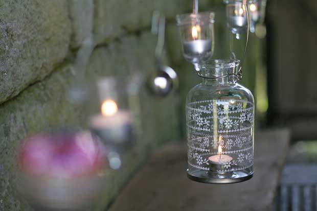 moonlight lantern 1682445i โคมเทียนจากพลาสติกใช้แล้ว