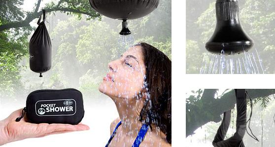 Pocket Shower ที่ฝักบัวอาบน้ำแบบพกติดตัว 13 - Pocket Shower