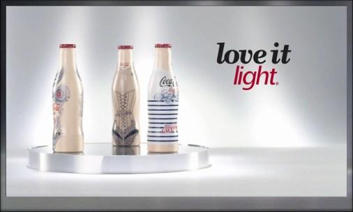 tv 3 Coca Cola by JEAN PAUL GAUTIER โค้กกับแนวความคิดทางแฟชั่นระดับโลก ถ่ายทอดมาลงสู่บรรจุภัณฑ์ทำให้เกิดสิ่งใหม่ๆ