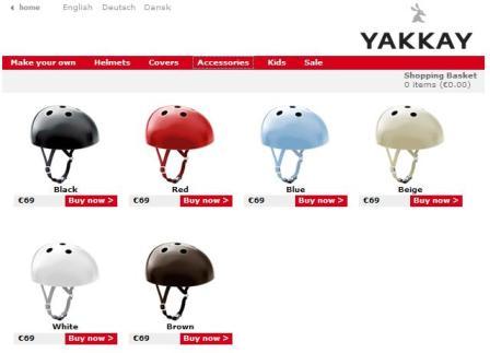 wqerq Yakkay หมวกจักรยาน ที่ออกแบบเองได้