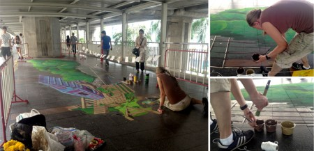 1 450x217 Street of Arts, Street of Fun 3D and 4D Art @ ราชประสงค์ ครั้งแรกในเมืองไทยกับ สตรีทอาร์ต 4 มิติ