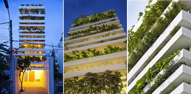 15.241 สวนแนวตั้ง คือ บ้านของเรา ณ Ho Chi Minh City