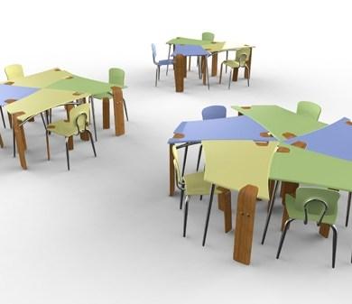 โต๊ะทำงาน..Collaborate… or Don't! 15 - Collaborative Desk