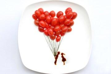 ไอเดียสร้างภาพศิลปะจากอาหารบน instagram โดยสถาปนิกชาวมาเลเซีย 18 - Instagram
