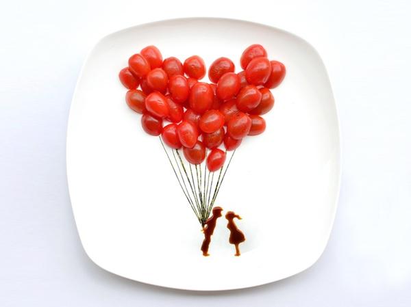 ไอเดียสร้างภาพศิลปะจากอาหารบน instagram โดยสถาปนิกชาวมาเลเซีย 24 - Instagram