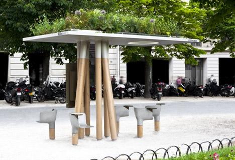 25560320 095042 งานออกแบบ Wi Fi stations ..ในกรุงปารีส สวยงามร่มรื่น น่านั่งยิ่งนัก