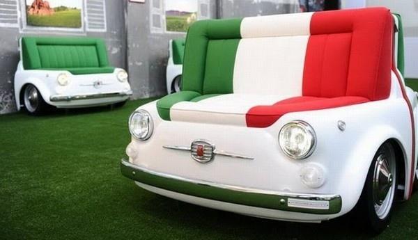 25560325 160706 เฟอร์นิเจอร์ จากรถ Fiat 500