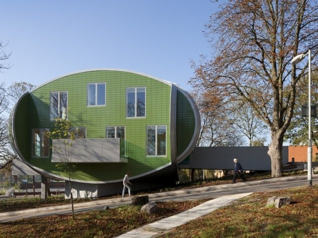 Maggie's Nottingham สถานพักฟื้นผู้ป่วยมะเร็ง 22 - Architecture