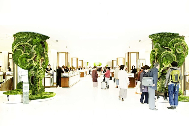 Art of Plants For Isetan Japan Department Store 2 สวนแนวตั้ง ART OF PLANTS ในห้าง ISETAN ที่ญี่ปุ่น