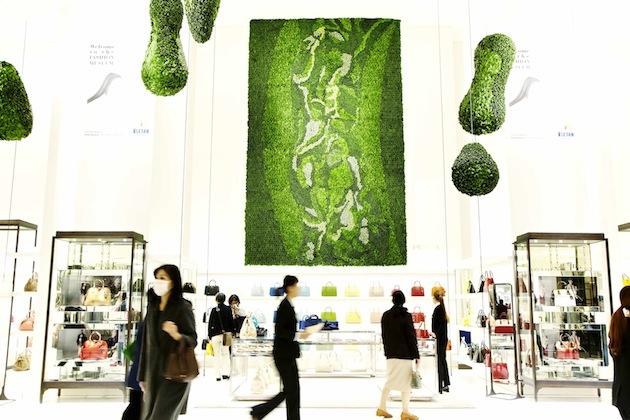 Art of Plants For Isetan Japan Department Store 4 สวนแนวตั้ง ART OF PLANTS ในห้าง ISETAN ที่ญี่ปุ่น