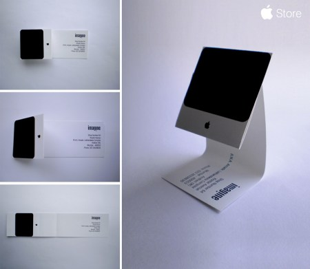 apple dm 450x391 Create Name Card ไอเดียทำนามบัตร