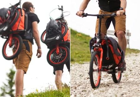 f45aBergmonch Downhill Bike Gear Patrol 450x311 Folding Backpack Bike แบกได้ปั่นได้กับ จักรยาน แบ็กแพ็จเกอร์