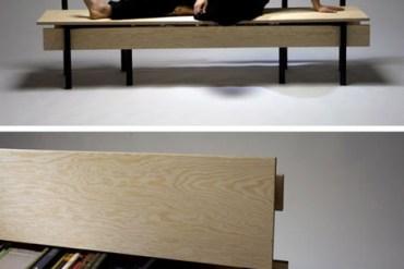 DIYม้านั่ง ที่เกิดขึ้นได้ง่ายๆจากเก้าอี้ 2 ตัว กับไม้ 5 แผ่น 20 - DIY