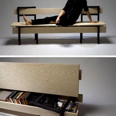 DIYม้านั่ง ที่เกิดขึ้นได้ง่ายๆจากเก้าอี้ 2 ตัว กับไม้ 5 แผ่น 22 - DIY