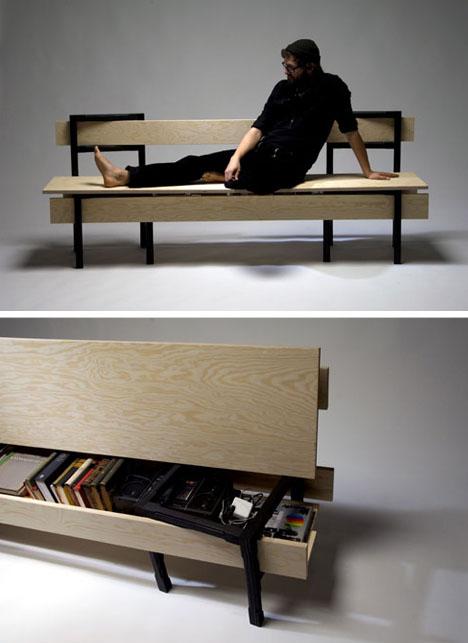 modular bench boards chairs 1 DIYม้านั่ง ที่เกิดขึ้นได้ง่ายๆจากเก้าอี้ 2 ตัว กับไม้ 5 แผ่น