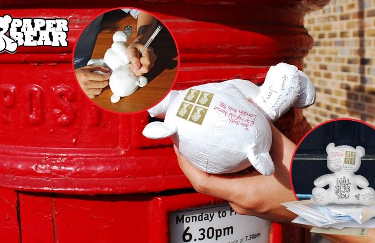 """Paper Teddy Bear ส่งจดหมายด้วย """"จดหมายตุ๊กตาหมี"""" 13 - letter"""