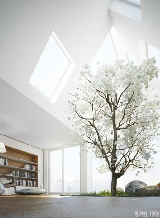 25560413 085456 บ้านที่มีสวนกลางบ้าน ล้อมรอบด้วยหนังสือ..ในบรรยากาศสงบและผ่อนคลาย