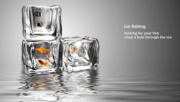 25560413 201317 อ่างปลาในก้อนน้ำแข็ง