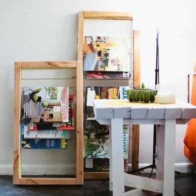DIY Magazine Rack 16 - DIY