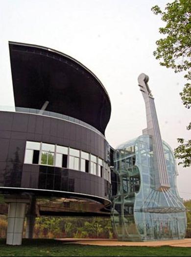 25560415 230711 Piano House in Huainan..ตึกนี้สำหรับคนรักดนตรี