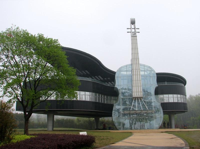 25560415 231520 Piano House in Huainan..ตึกนี้สำหรับคนรักดนตรี