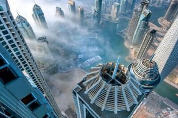 ภาพถ่ายกลุ่มตึกระฟ้าโผล่พ้นทะเลหมอก ที่ดูไบ..สวยงามหาดูได้ยาก 6 - Dubai