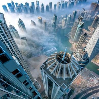 ภาพถ่ายกลุ่มตึกระฟ้าโผล่พ้นทะเลหมอก ที่ดูไบ..สวยงามหาดูได้ยาก 23 - Dubai