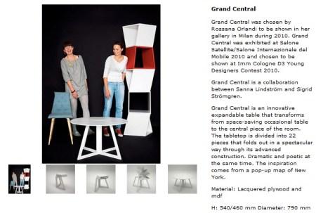 334 450x303 Folding Table is Inspired By Pop Up Map Grand Central โต๊ะพับได้ตามรูปแบบของการพับแผนที่ป๊อปอัพ