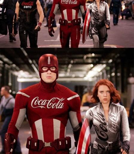 ถ้า Superheroes มีแบรนด์เนมเป็นสปอนเซอร์ 24 - movie