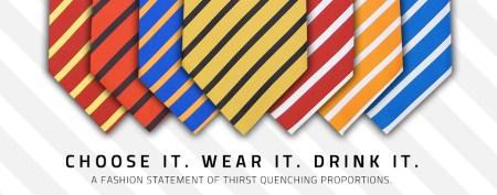 FlaskTie Choose it. Wear it. Drink it. 450x177 ดื่มได้ทุกที่ถ้าใช้เนคไท THE FLASK TIE