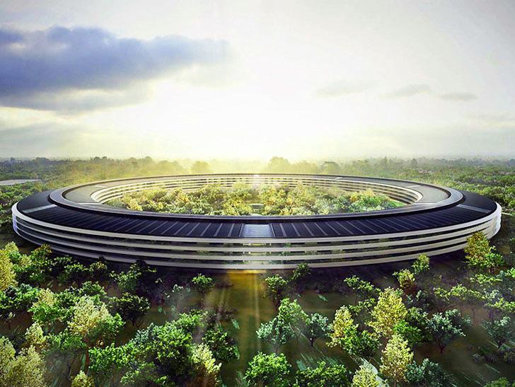 โครงการสำนักงานแห่งใหม่เป็นมิตรกับสิ่งแวดล้อม ของApple ใน Cupertino Campus 13 - apple