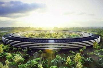 โครงการสำนักงานแห่งใหม่เป็นมิตรกับสิ่งแวดล้อม ของApple ใน Cupertino Campus 12 - apple