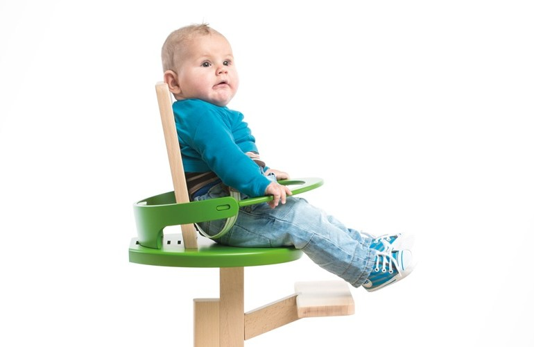Froc modern high chair เก้าอี้ตัวเดียวใช้ได้ตั้งแต่เด็กยันโต 13 - Wood chair