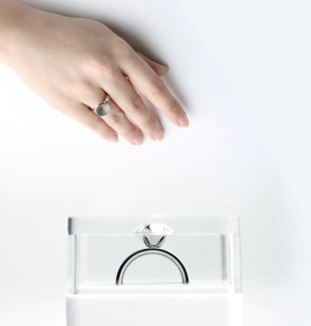 image8 450x472 ขอแต่งงานด้วย Invisible love ring