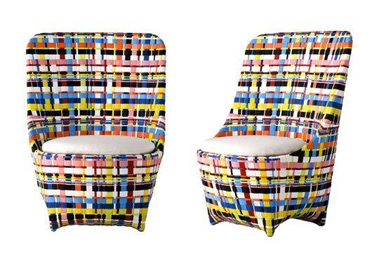 ludovica roberto palomba for driade cape west armchair designgush ii เก้าอี้สานแนวโมเดิร์น..ดูเหมือนตะกร้าสานของบ้านเรา