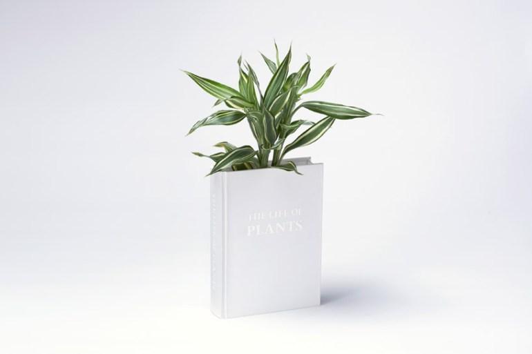 Book planter นี่หนังสือ หรือ กระถางต้นไม้ ดีไซน์การปลูกต้นไม้จาก YOY studio, Japan 16 - book