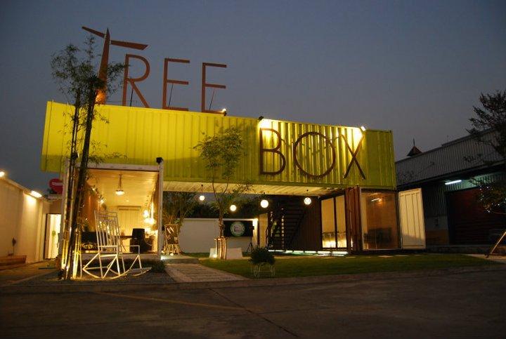 Tree Box ร้านอาหารรูปแบบการดื่มกินภายในตู้คอนเทนเนอร์ 29 - REVIEW