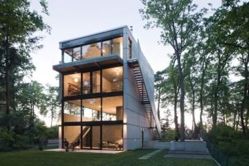 Modern House..เชื่อมต่อภายนอกและภายในด้วย..คอนกรีต กระจกใส ไม้ และหิน 20 - Modern style