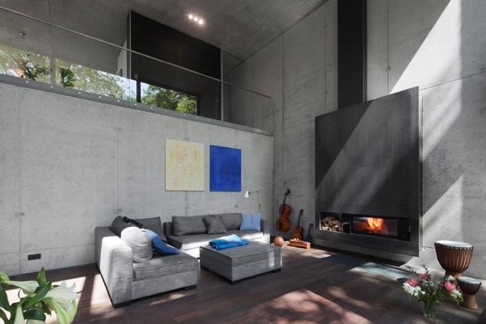25560503 170227 Modern House..เชื่อมต่อภายนอกและภายในด้วย..คอนกรีต กระจกใส ไม้ และหิน