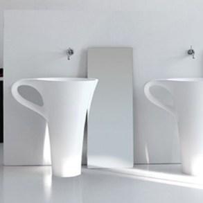 อ่างน้ำโมเดิร์น 10 แบบ ที่จะทำให้ห้องน้ำกลายเป็นจุดสดุดสายตา 15 - bathroom