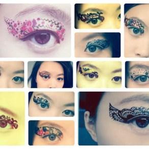 Eye Tattoos..แฟชั่นใหม่ของการตกแต่งดวงตา 27 - make up