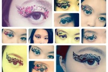 Eye Tattoos..แฟชั่นใหม่ของการตกแต่งดวงตา 6 - make up