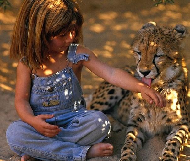 Tippi of Africa: เด็กหญิงที่เติบโตมากับป่าแอฟริกา 17 - PEOPLE